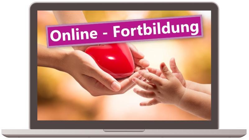 Die Fortbildung Fachkraft für Kleinkindpädagogik als Onlinefortbildung mit Live-Event