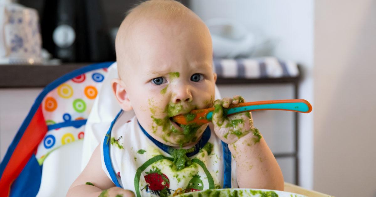 So lernen Kinder Essen in der Krippe, in der Kita und bei der Tagesmuttes