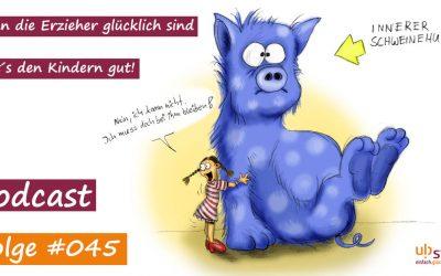 #045 – Null Bock auf gar nix! oder: Wie Du Deinen inneren Schweinehund überwinden kannst!